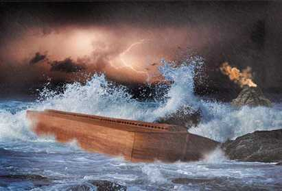 Noah's ark and the flood