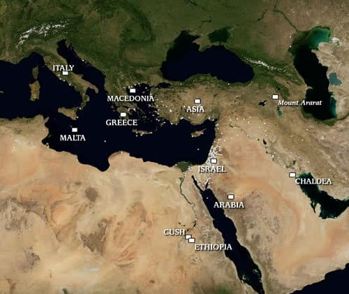 Death, terrorism and the Middle East
