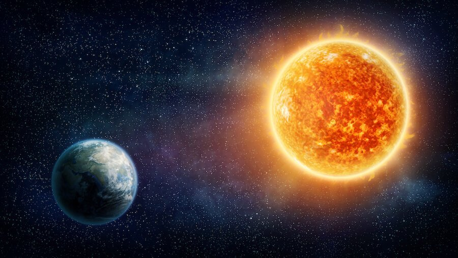 sun formed before earth genesis